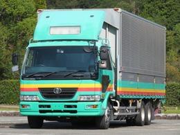 UDトラックス コンドル 11.1t 増トンワイド アルミウイング 内寸-長735x幅240x高238