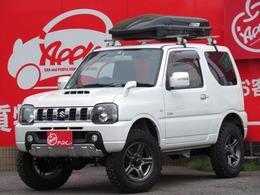 スズキ ジムニー 660 クロスアドベンチャー 4WD 新品3インチUP 新品タイヤ SDナビ ETC