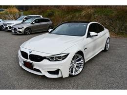 BMW M4クーペ コンペティション M DCT ドライブロジック BC20インチAW アルカンターラ BOOTMOD3
