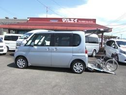 ダイハツ タント 660 フレンドシップ スローパー リヤシート付仕様 車いす仕様車 車いす固定装置 CD 福祉車両
