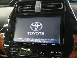 【純正9インチナビ】bluetoothやフルセグTVの視聴も可能です☆高性能&多機能ナビでドライブも快適ですよ☆