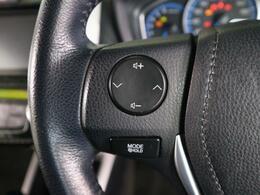 運転中でもお手元に簡単にオーディオ操作が可能です。