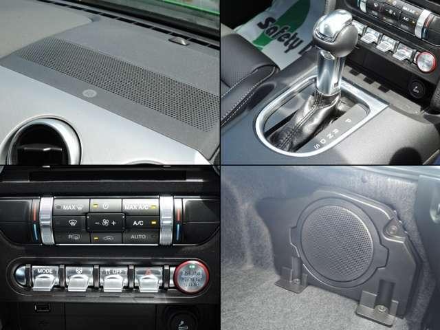 本国オプションのB&Oプレミアムオーディオを搭載!クリアな高音質に加え、綺麗に鳴り響く重低音もお楽しみ頂けます♪またリアにはサブウファーも取り付いているため、大迫力の音響をご提供致します!