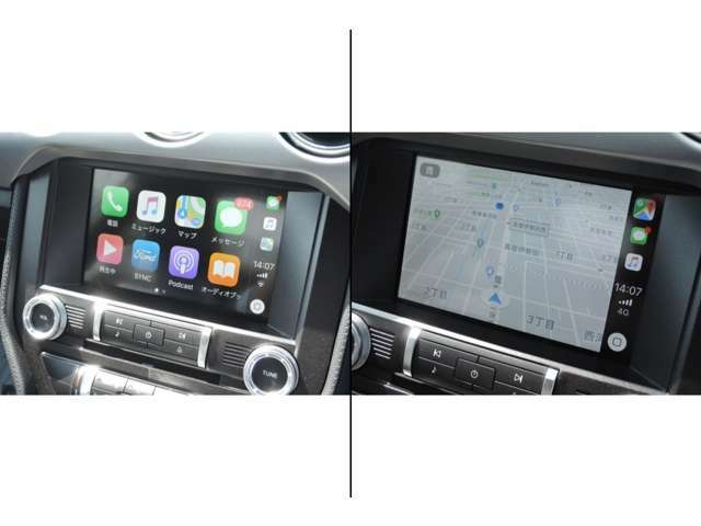 My ford touchがSYNC3へとアップデートされました!Apple car play・Andoroid autoなどスマホと連動しナビアプリや音楽アプリなどセンターパネルにてお使い頂けます!