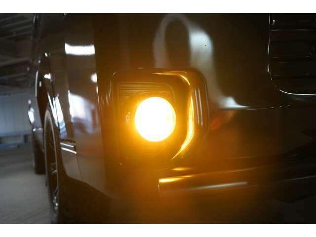フォグ LED イエロー