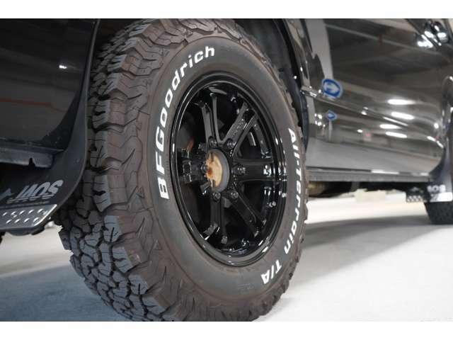 社外16インチアルミ オリジナル塗装 BFGoodrich オールテレーンタイヤ 新品