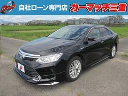 トヨタ カムリハイブリッド 2.5 レザーパッケージ 自社 ローン/フルエアロ/シートヒーター
