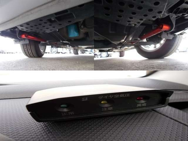 豪華装備の社外補強が入っております!空気圧のモニタリングもついております。