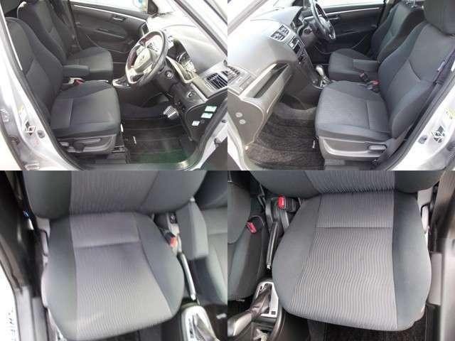 運転席助手席とも破れなく綺麗です!シートもホールド性もいいです♪