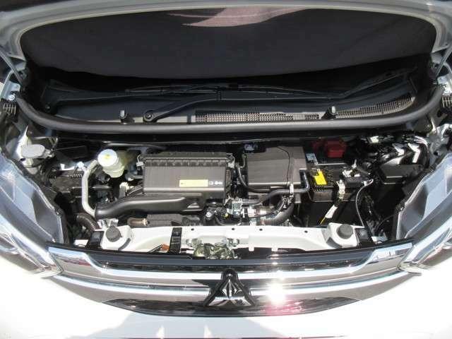 低燃費のエンジンになってます