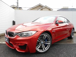 BMW M4クーペ M DCT ドライブロジック 19AW黒革LEDドラレコ禁煙認定中古車