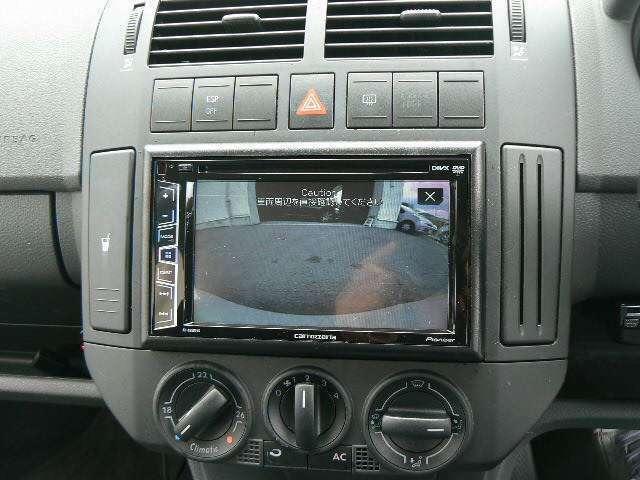 バックカメラついているので車庫入れ安心です。
