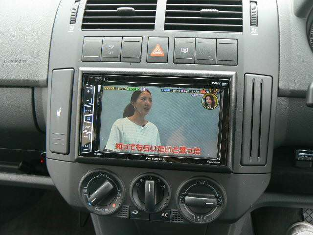 DVD&フルセグTV付き。