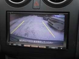 見えづらい後ろを映してくれるバックカメラ装備 駐車をアシストしてくれます♪