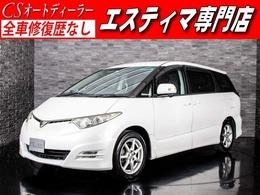 トヨタ エスティマ 2.4 アエラス 両側自ドア リアモニター HDDナビ 禁煙車