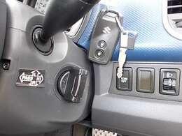 キーレス付きです☆ボタン1つで施錠解錠できるは便利ですね♪お問い合わせはお気軽に0120-03-1190.sankyo8585@net.email.ne.jp☆