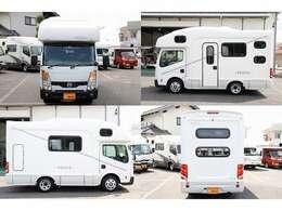 H25 アトラス AtoZ製アーデン 2.0 2WD AT 乗車定員7名就寝目安7名 車両寸法499cm×193cm×288cm 1オーナー SDナビ 地デジ ETC バックカメラ キーレス