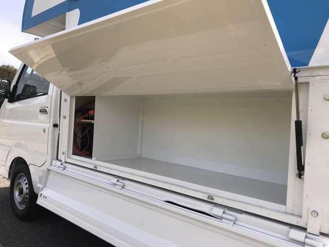 収納スペースは450×470×1400