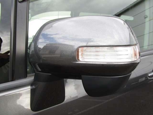 ウィンカー付きサイドミラーで他車からの視認性も良好です
