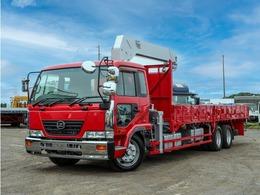 UDトラックス コンドル 5段クレーン付き 平 増トン 10t ラジコン ベッド付き フックイン 2デフ