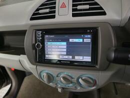 CD録音可能なワンセグナビ装着車!ご納車後すぐに遠出も可能です♪