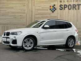 BMW X3 xドライブ20d Mスポーツ ディーゼルターボ 4WD インテリセーフ 純正ナビTV Bカメ HID