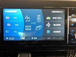 基本プランにて、最新カロッツェリア フルセグTVナビゲーションが装備されます。CD/DVD/MSV/Bluetoo が利用できます。ステアリングスイッチとも連動し、運転中の操作もお手軽に行えます。
