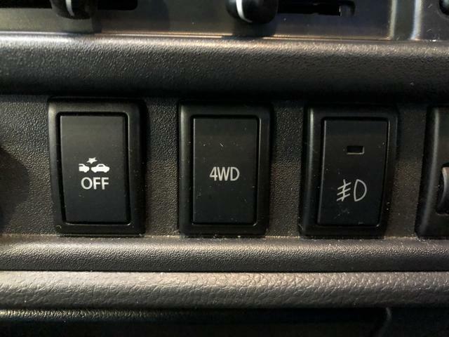 4WDは切替式のパートタイム4WD。