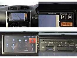 ☆純正メモリーナビ(MM313D-W)フルセグTV、DVD再生、CD録音、BTオーディオにも対応しています。