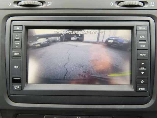 駐車が楽々、バックカメラついてます!