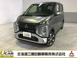 三菱 eKクロス 660 T 4WD レンタカーアップ 社外メモリーナビ装備
