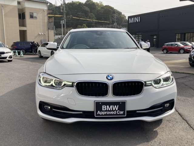 BMWの特徴的なキドニーグリルです。