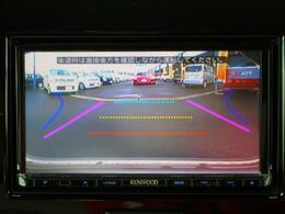 バックカメラを装備しています。サイドミラーだけでは見えにくい 車両真後ろを確認できます。ガイドライン付で 駐車をサポート!