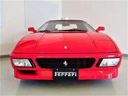 外装Rosso Corsa