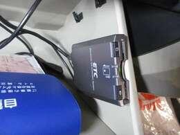 料金所をノンストップで通過できるETC装備!(グロ-ブボックス内に設置)