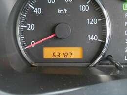 走行距離約63000キロ! まだまだこれからのおクルマですので、ぜひ大切に乗ってあげてください☆