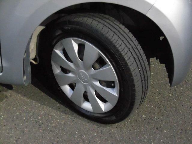 タイヤ溝もしっかりあります