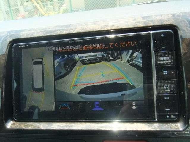 メーカーオプション!パノラミックビューモニター装着で360度 視界をナビゲーションに映し出します!