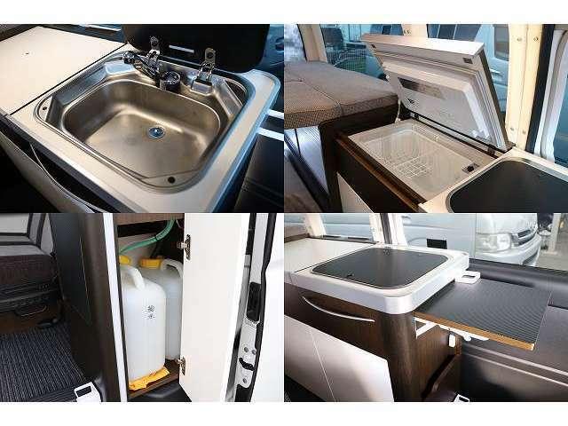 シンク(給排水各13L) エンゲル上蓋式冷蔵庫40L