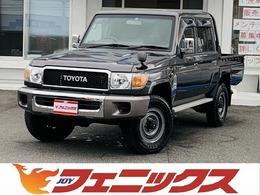 トヨタ ランドクルーザー70ピックアップ 4.0 4WD 1オーナー5MT4WDフルセグSDナビ