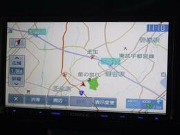 ◇カーナビ 目的地だけでなく、近くにあるガソリンスタンド等の情報も簡単に検索できます。