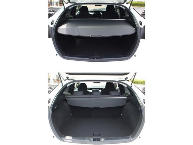 トランクルームもご確認ください!取り外し可能なトノカバー付き☆目隠しの効果だけでなく、直射日光のダメージからトランク内の荷物を守ります!