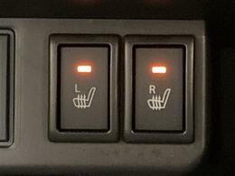 嬉しいシートヒーター付き!