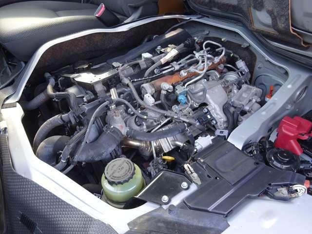 3000ccディーゼルターボエンジン(1KD-FTVタイミングベルト式)が搭載されています。