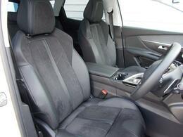 フロントシート アルカンタラ/テップレザーシート 運転席メモリー付電動シート&マルチポイントランバーサポート フロントシートヒーター 上質な質感と程よいホールド感が魅力です。