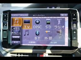 ALPINEデカナビを装備。フルセグTV、ブルートゥース接続、DVD再生可能、音楽の録音も可能です。