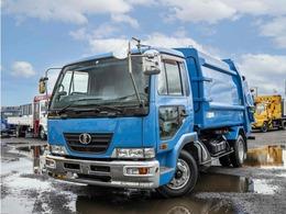 UDトラックス コンドル プレス式パッカー車 容積8立米 4t メッキパーツ 塵芥車 6MT
