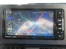 オプションセットのフルセグ地デジナビ(DVD再生・CD録音・Bluetooth)※ナビは最新型パナソニック製となります。