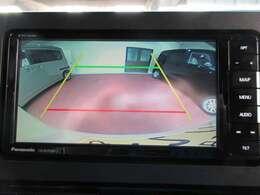 オプションの純正バックカメラ接続配線キット(純正ナビ装着用アップグレードパック用)・ハンドルリモコン付き。
