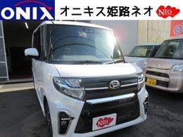 ダイハツ タント 660 カスタム X 新型新車ナビTVバックカメETCマットバイザ-